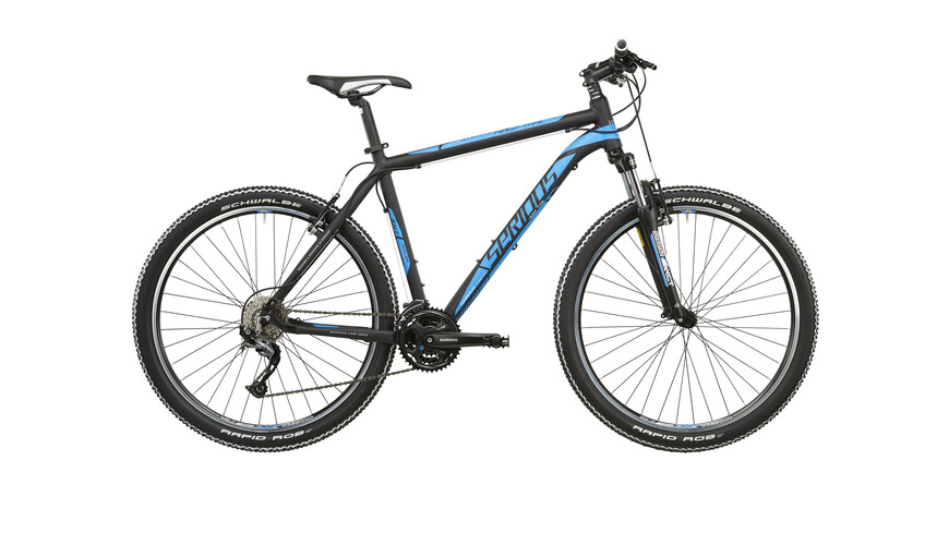 "Serious Ridge Trail MTB Hardtail 27,5"" zwart"